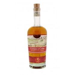 CONDE DE CUBA 5 YEARS 38 °...