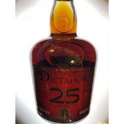 DICTADOR 25 YEARS 40 ° 70 CL