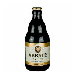 ABBAYE AULNE BLONDE 6 ° 33 CL