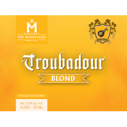 TROUBADOUR BLONDE 6.5 ° 33 CL