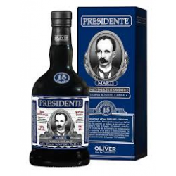 PRESIDENTE 15 YEARS 40 ° 70 CL