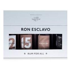 RON ESCLAVO COFFRET 4 x 20 CL