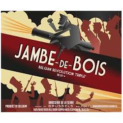 JAMBE DE BOIS 8 ° 33 CL